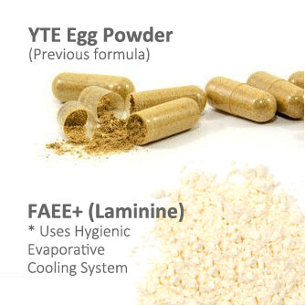 difference of yte and laminine powder