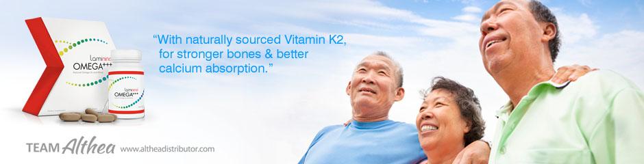 laminine omega vitamin k bone