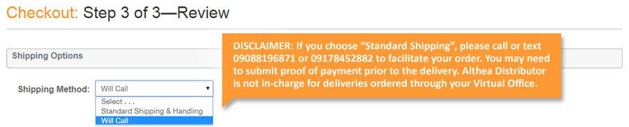 Philippines auto delivery